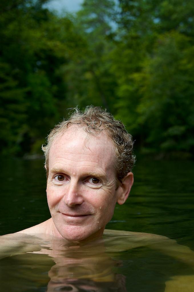 Duncan Blair in the Little Cahaba River near Birmingham, AL